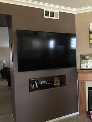 Flat Screen Mounting