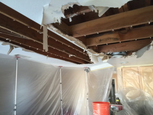 Ceiling Repair: Water Damage